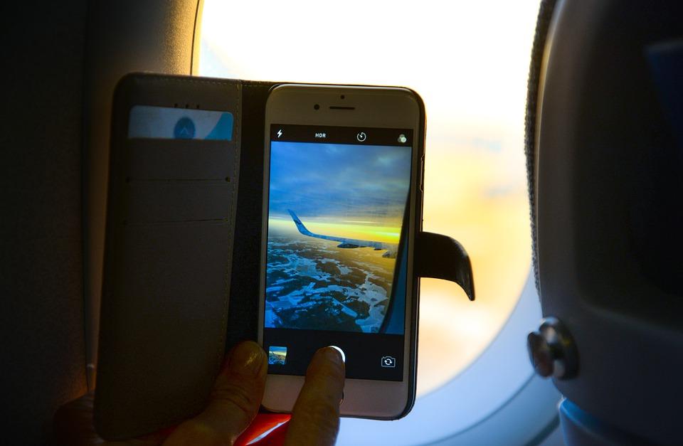 underholdning på flyet