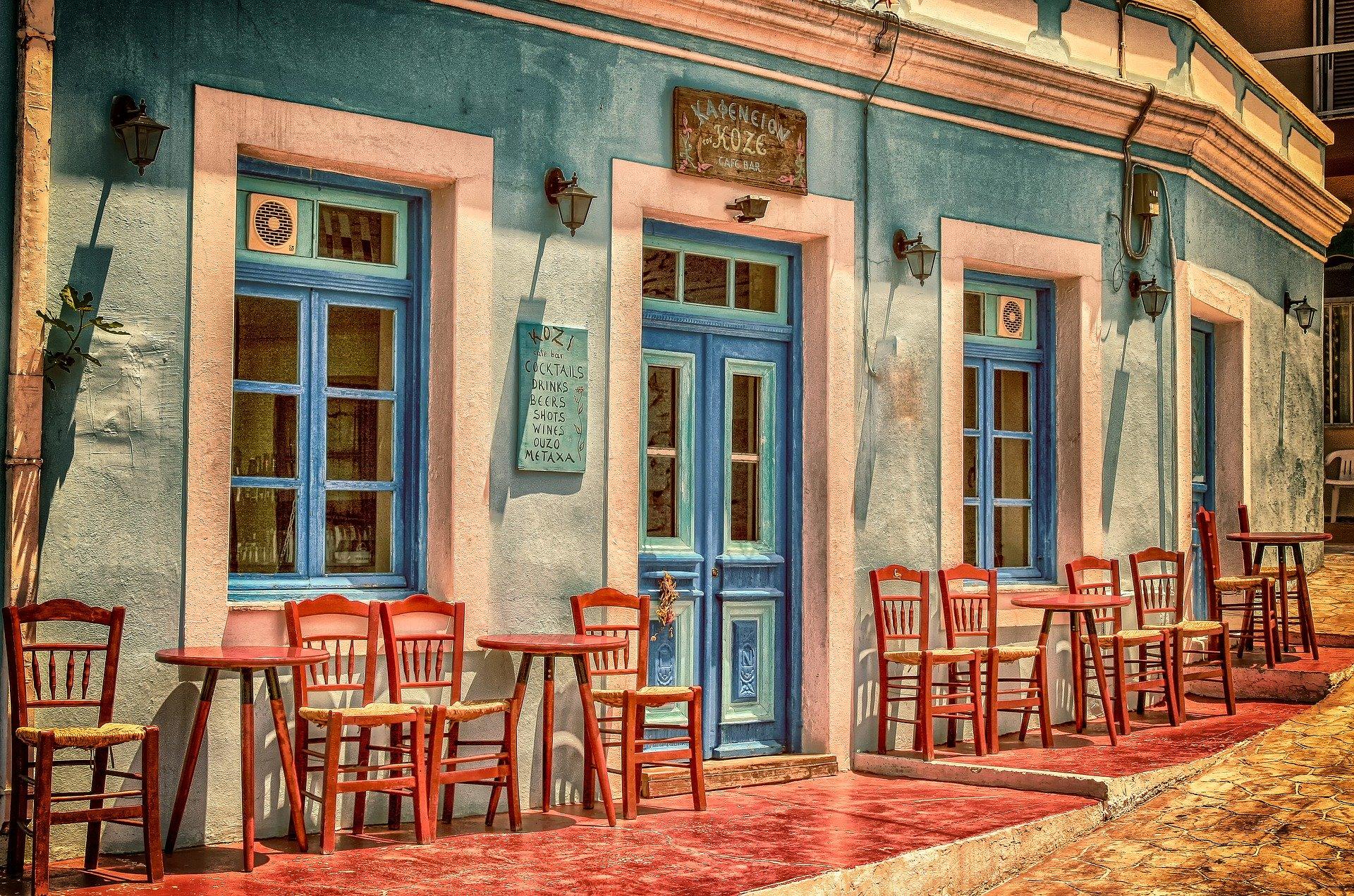 Hyggelig cafe